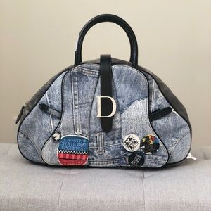 Christian Dior Double Saddle Limited Edition Bag